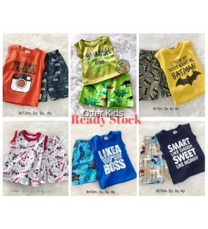 Boy Kids Singlet Playpants